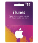 iTunes Gift Card – 15$