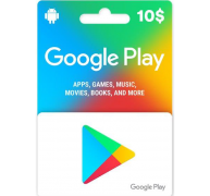 Google Play Gift Card – 10$