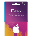 iTunes Gift Card – 2$
