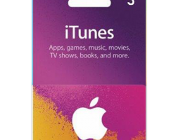 iTunes Gift Card – 3$