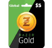 5$ Razer Gold Global Pin