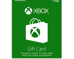 Xbox Live Gift Card 10$ Wallet